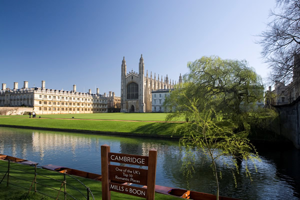 Cambridge and the River Cam